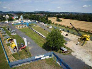 Luftaufnahme mit Genehmigung des Landesbetriebes Mobilität Rheinland-Pfalz und des Bimsmuseums Kaltenengers_ www.bimsmuseum.de